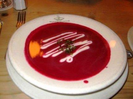 Delikátna cviklová polievka