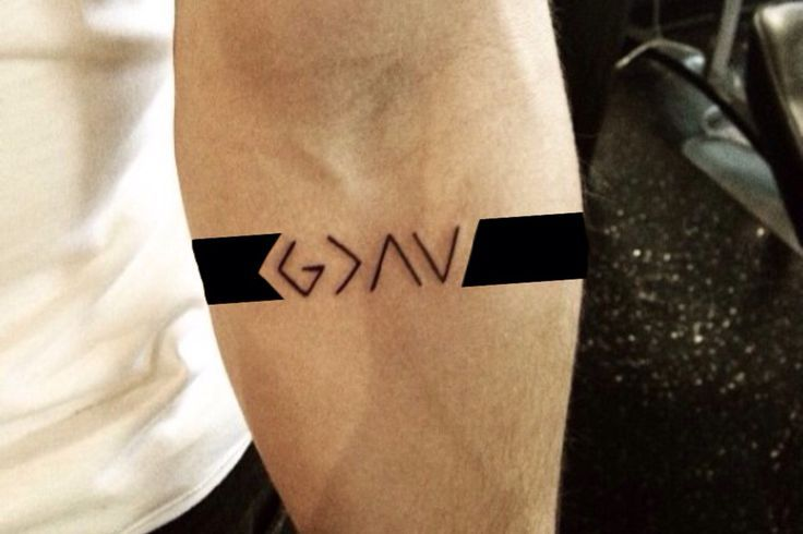 God is greater than the highest and the lowest, bigger than my problems #tattoo