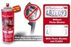 Anti Speed Camera Red Light Camera & Toll Photo Blocker License Plate Spray