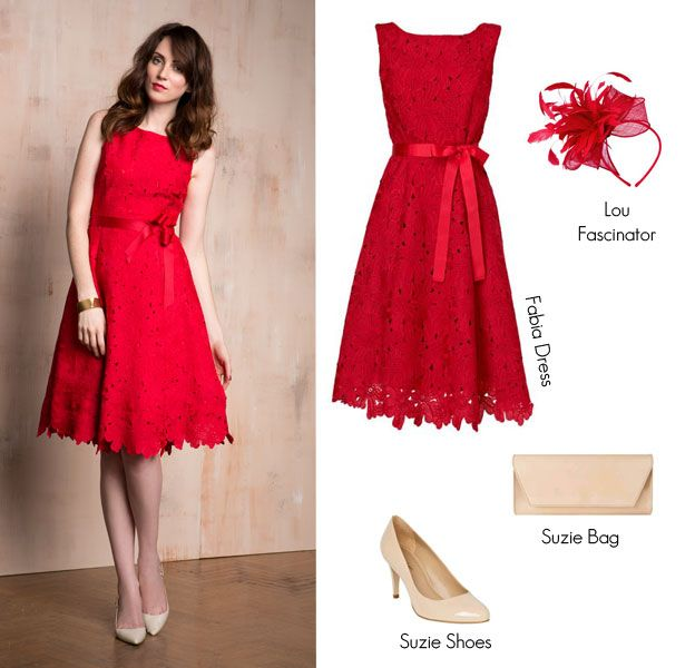 9871dbb9c658 wedding guest outfit | H | Red wedding dresses, Winter dresses, Day wedding  outfit