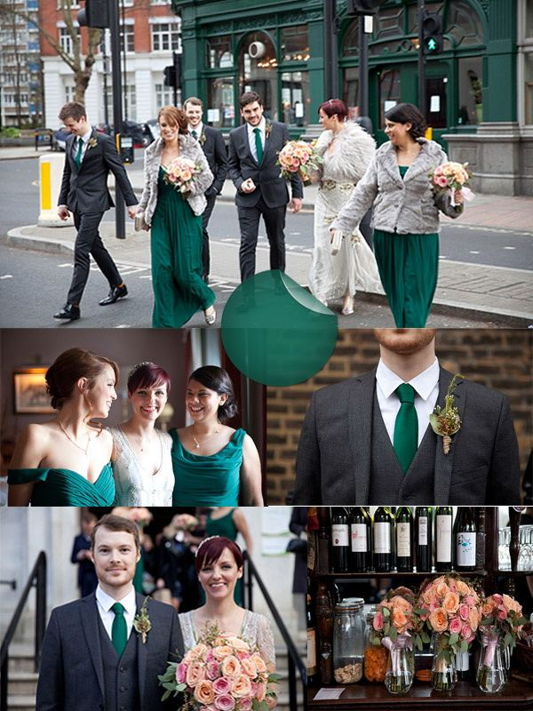 Hot Wedding Color Trends 2014–Hunter and Pea Green | VPonsale Wedding Custom Dresses