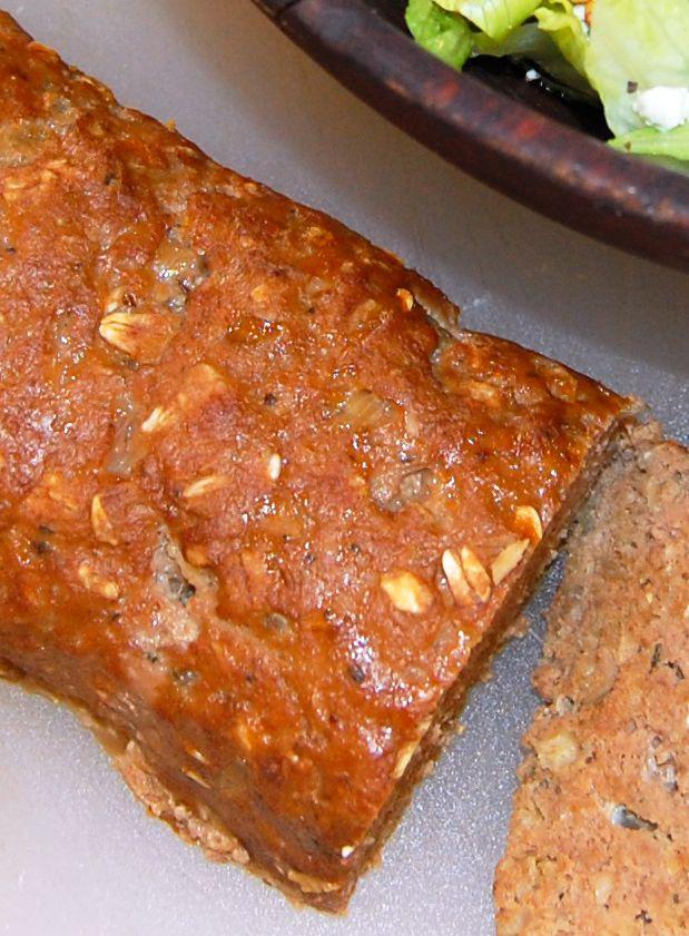Oatmeal Meatloaf A Lighter Way To Make Meatloaf