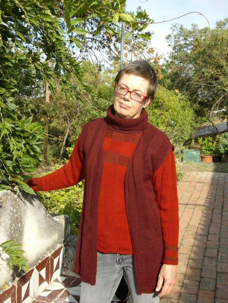 Prodotti tessili come spiegazioni a fare maglia, kits, filati e maglioni artigianali di domoras
