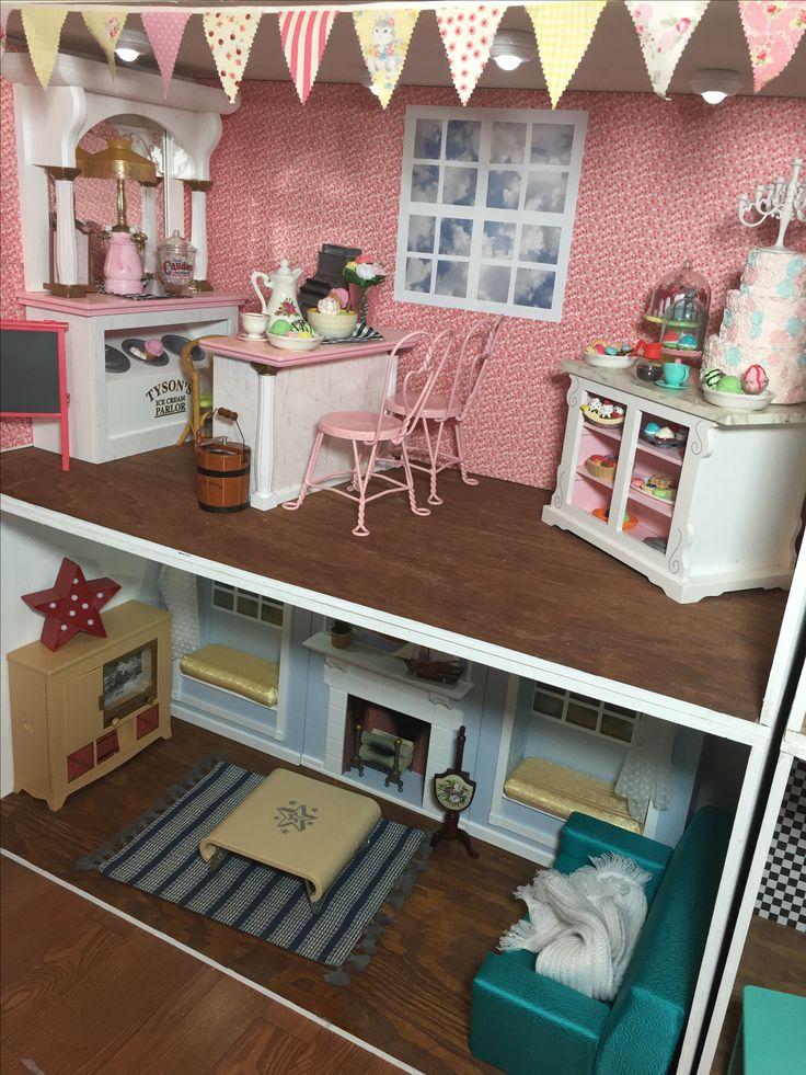 American Girl House American Girl Dollhouse American
