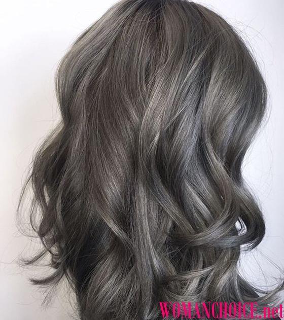 Цвет волос интересный