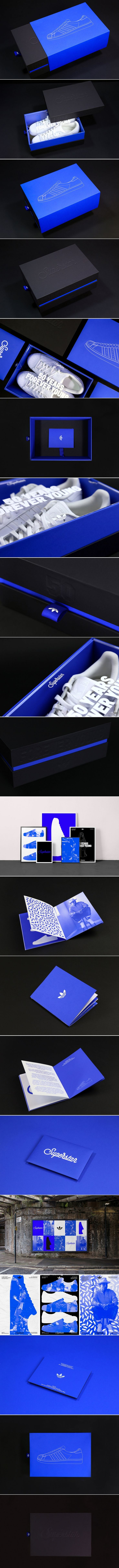 We Love This Bold Packaging and Branding Concept For Adidas Superstar's 50th Anniversary — The Dieline | Packaging & Branding Design & Innovation News