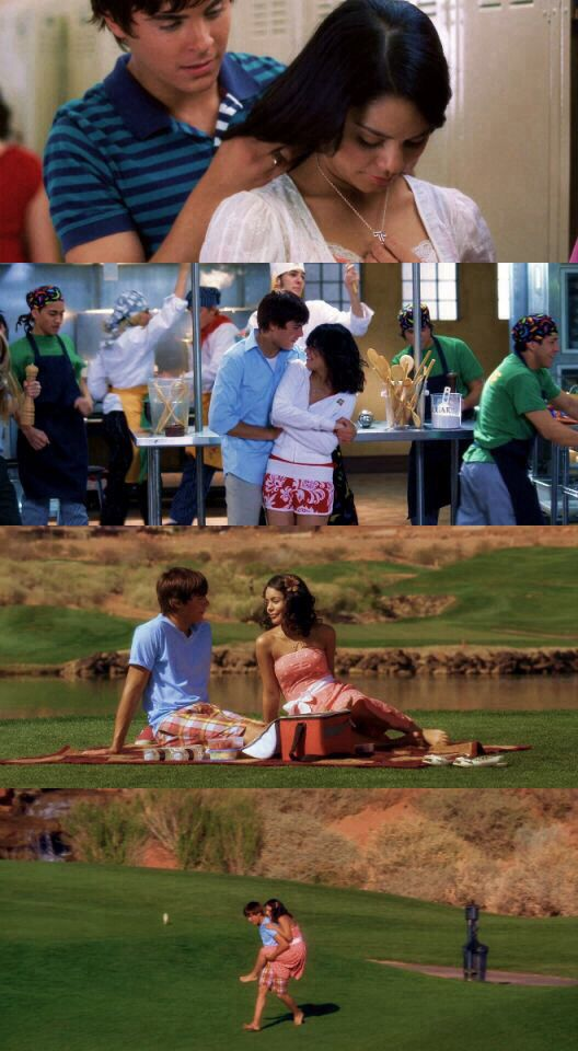 Troy & Gabriella ♥ these two have been my fave couple for like ever and always will be. I would love a relationship like this one day. ❤️️  Printrest: candigirl110