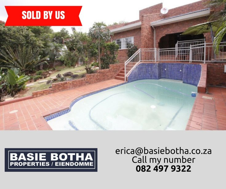 SOLD BY US Call my number 0824979322 #BasieBotha #NelspruitHuise