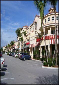 Boynton Beach, FL. This is just a strip mall, but it looks nice in print.