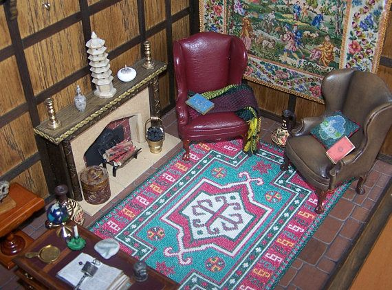 Miniature Kazak Rug For Your 1 12th