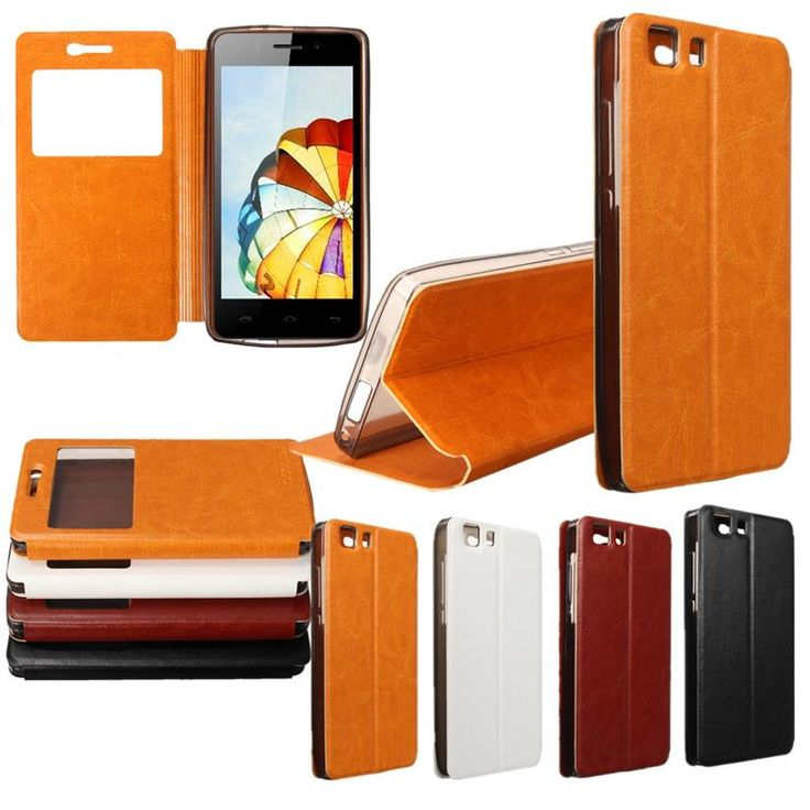"VISIT -- http://playertronics.com/products/4-colors-smart-view-window-flip-synthetic-leather-case-cover-for-doogee-x5x5-pro-5-0-mobile-phone-cases/ 4 Colors Smart View Window Flip Synthetic Leather Case Cover For Doogee X5/X5 Pro 5.0"" Mobile Phone Cases"