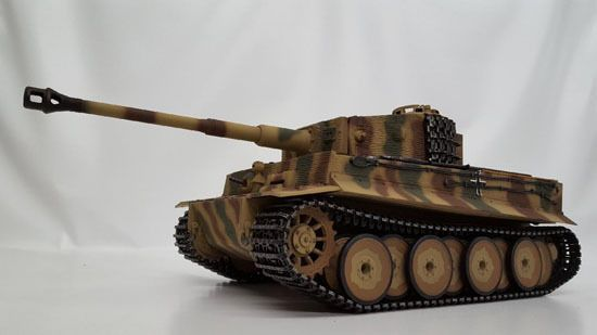 Taigen Tiger 1 Mid Version (Metal Edition) Airsoft 2.4GHz RTR RC Tank