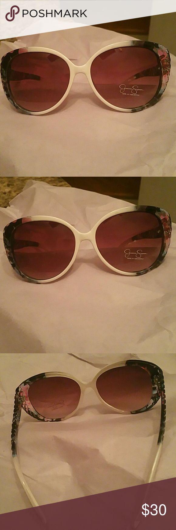 Jessica Simpson Sun glasses Jessica Simpson Sun glasses 100% uv protection Jessica Simpson Accessories Glasses