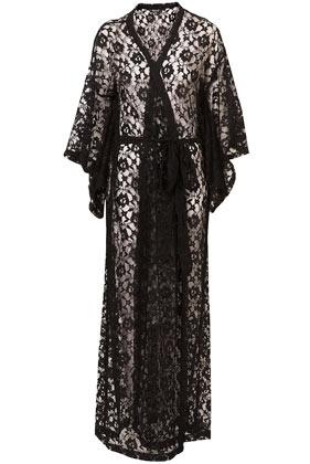 Lace kimono. Love it!