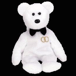 Mr. the groom bear, Beanie Baby