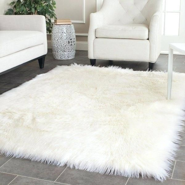 Fantastic White Fluffy Area Rug Pics Beautiful White Fluffy Area Rug For Blathering Collection Of White White Fluffy Rug Faux Sheepskin Rug White Faux Fur Rug