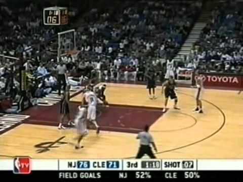LeBron James first 40 point game at 19 yrs old, NBA record [Mar. 27, 2004] - YouTube