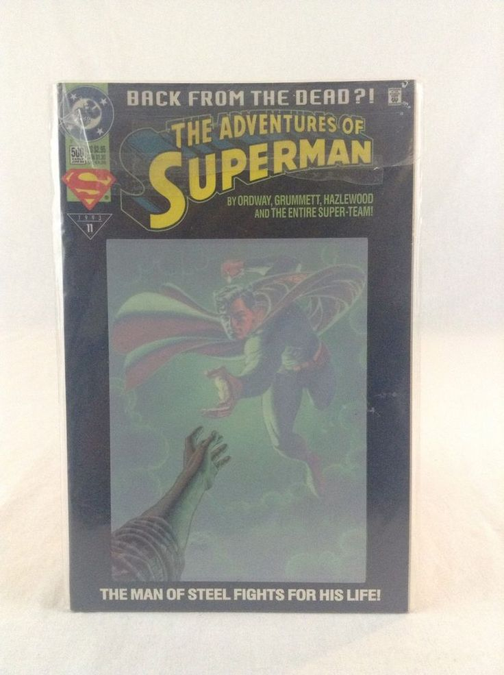 DC Comics 1993 #11 Back From The Dead Adventures Of Superman Action Comic Book