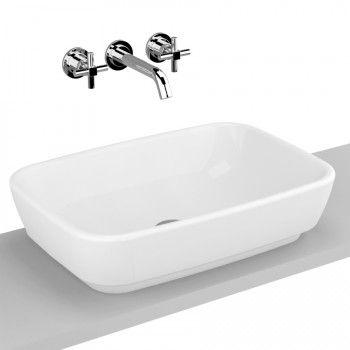 Vitra Shift Countertop Basin 55cm x 38cm White