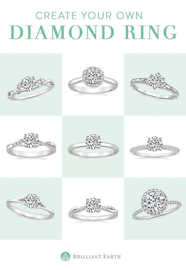 [ad] Create your own diamond ring! Select your ideal ring setting and pair it with an exceptional conflict-free diamond.