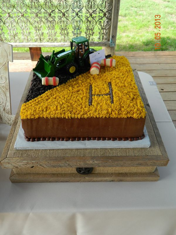 Country Grooms Cake More Groom S Are Getting Creative And Having Fun