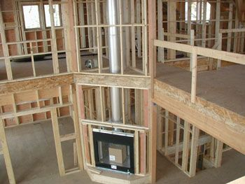 1000 ideas about zero clearance fireplace on pinterest for New construction wood burning fireplace