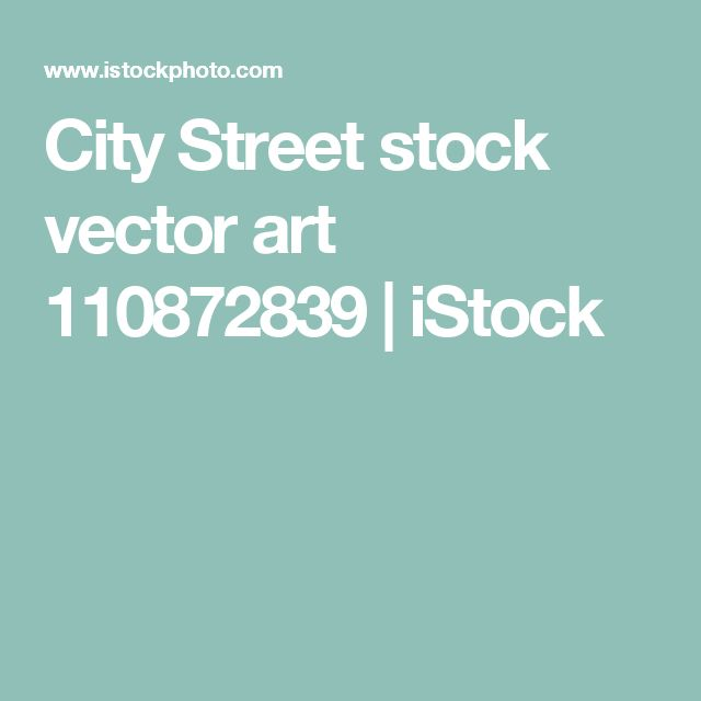 City Street stock vector art 110872839 | iStock