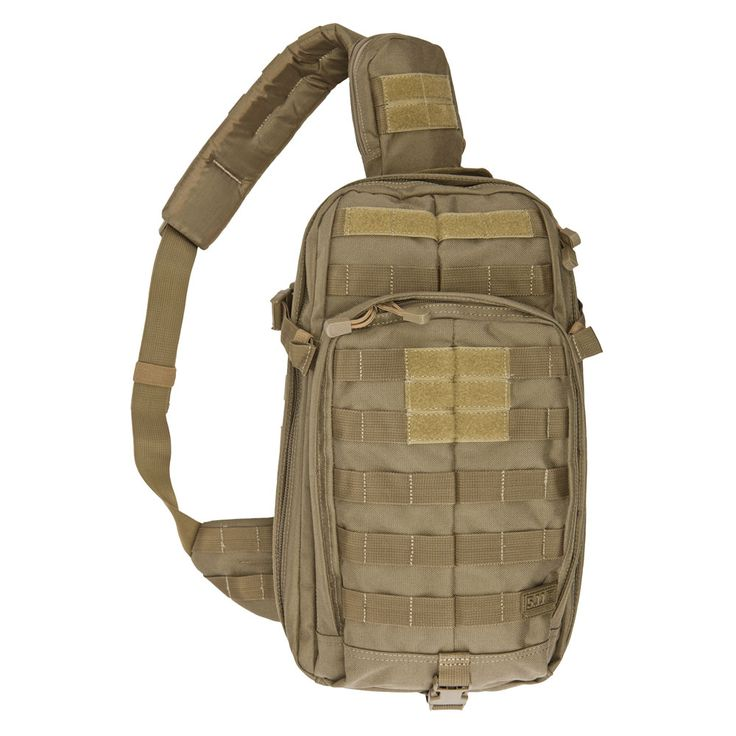 5.11 Tactical RUSH MOAB 10.. can be attached to a larger RUSH pack