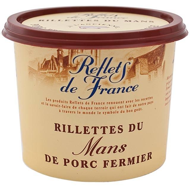Reflets de France Rillettes de porc: oooh I miss French food!: Le Man