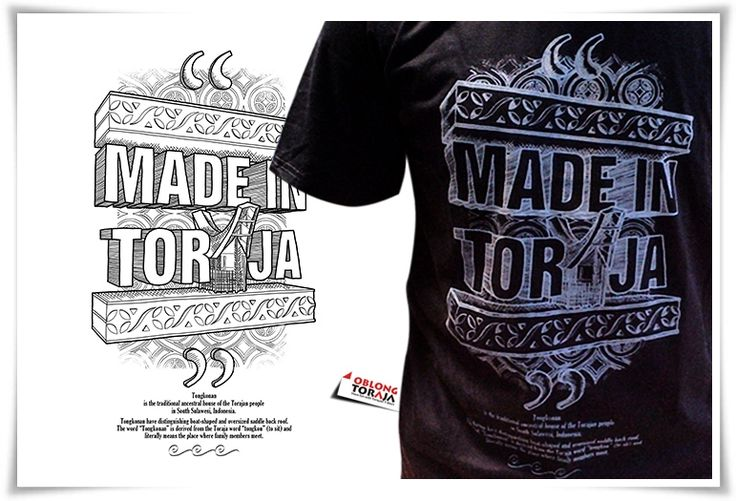Made In Toraja, IDR 80 K, Cotton Combed 30 s