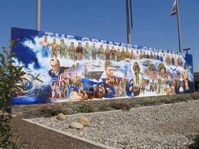 Visalia has more murals per square foot than Florence