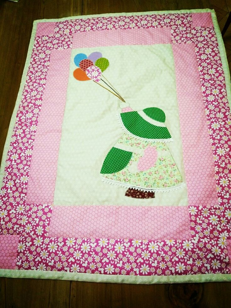 Pink blankets — quilts made by Hienpham