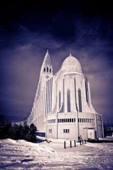 André Blom Fotografie: bijzondere kerk te Ijsland: hallgrimmskirkja Reykjavik