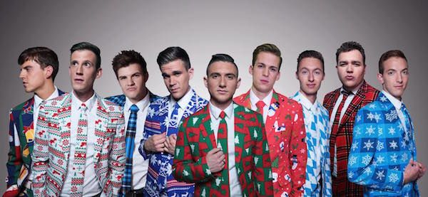BYU Vocal Point takes a cappella to Trans-Siberian Orchestra level #BYU #VocalPoint #WrappingPaperSuits #Christmas