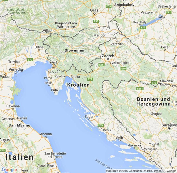 Reisen In Kroatien Kroatien Camping Kroatien Istrien Und