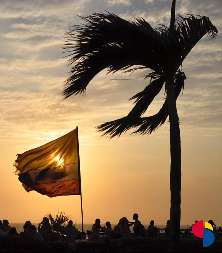 Cafe del Mar - Cartagena - Colombia. The place to be for an unforgettable sunset in an incredible place :)  #centrocatalinaspanishschool