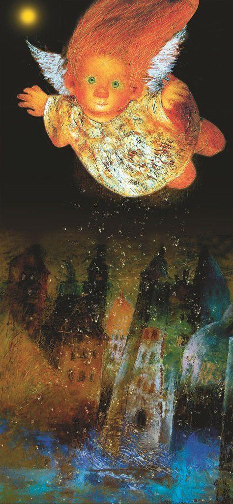 Ангел летящий над городом.Чувиляева Г.Ю.. Обсуждение на LiveInternet - Российский Сервис Онлайн-Дневников