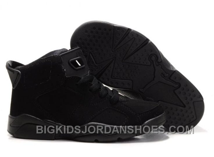 http://www.bigkidsjordanshoes.com/kid-air-jordan-6-all-black-hot.html KID AIR JORDAN 6 ALL BLACK HOT Only $75.65 , Free Shipping!