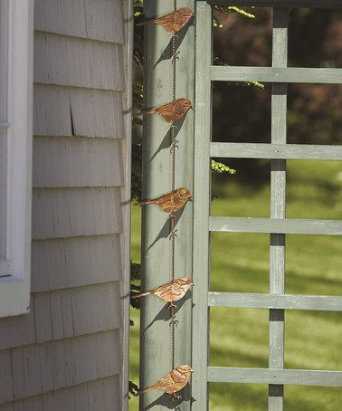 Hang These Flamed Copper Birds From A Shepherdu0027s Hook, Planter Hook, Or  Tree To Add Interest To Any Garden Or Deck Area.