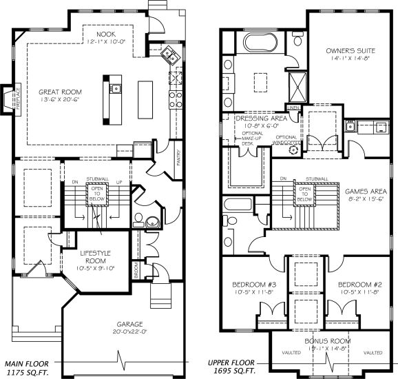 Andor Model Home floor plan