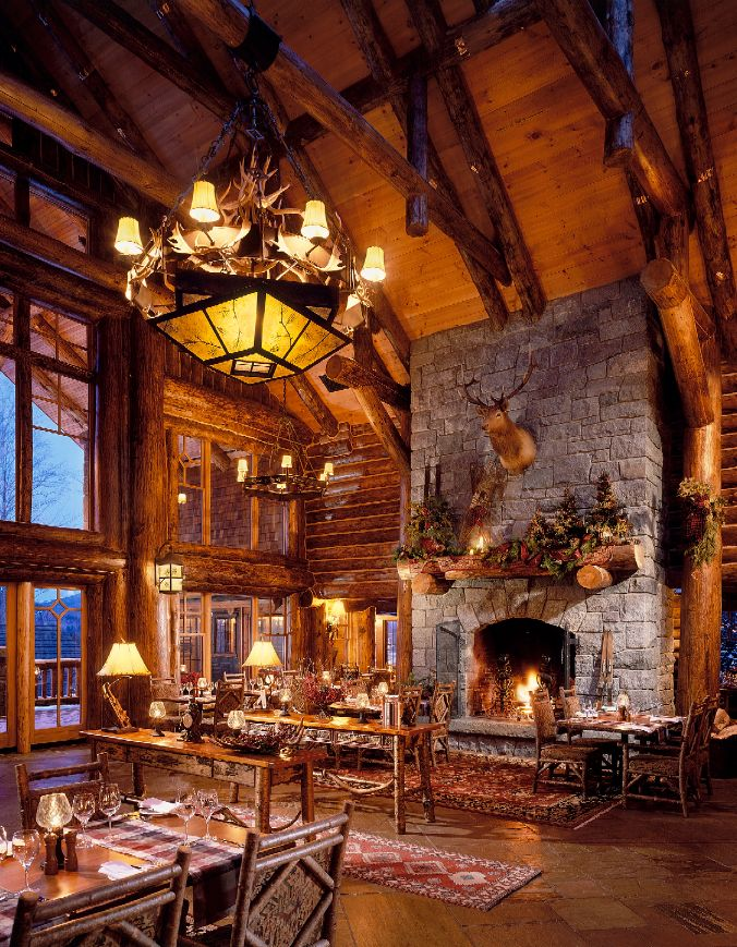 Inspired by the Adirondacks Great Camps of the 1920s that served as refuges for the Gilded Era titans of industry, Whiteface Lodge on Lake Placid is the perfect marriage of grandeur and coziness.