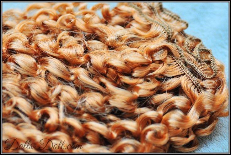 Dlouhé vlnité vlasy na výrobu paruky