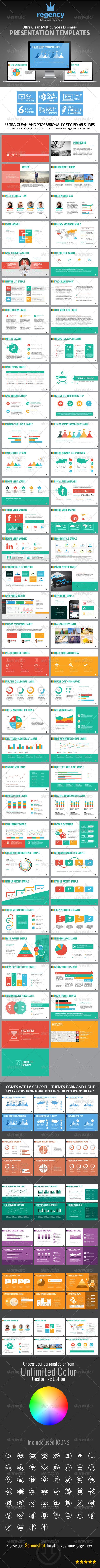 Clean Multipurpose Business Presentation Template