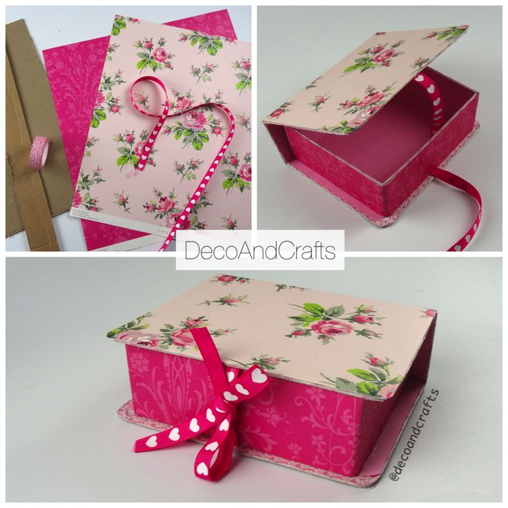Cajita en forma de libro Ideal para cajita de Regalo  - DecoAndCrafts VIDEO: http://youtu.be/q9FiRVD2Mdc