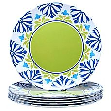 image of Certified International Mediterranean Dinner Plates (Set of 6)