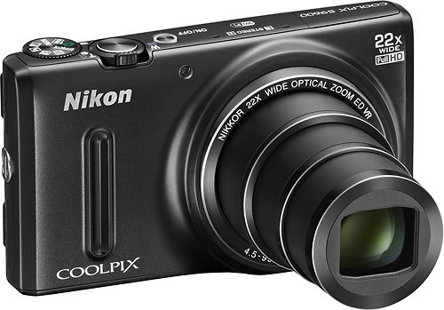 On Sale: $179.99 (Reg. $299.99) Nikon – Coolpix S9600 16.0-Megapixel Digital Camera – Black