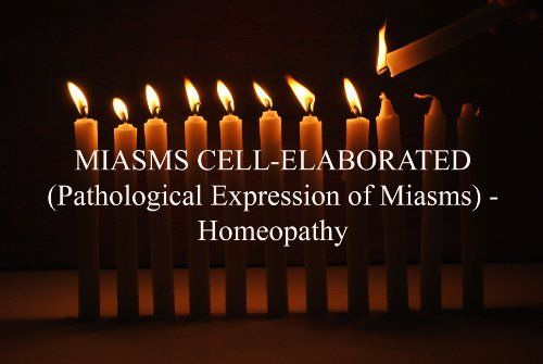 MIASMS CELL-ELABORATED (Pathological Expression of Miasms) - Homeopathy (Easy homeopathy) by Dr Manish Vadanlal Doctor. $10.28. 22 pages