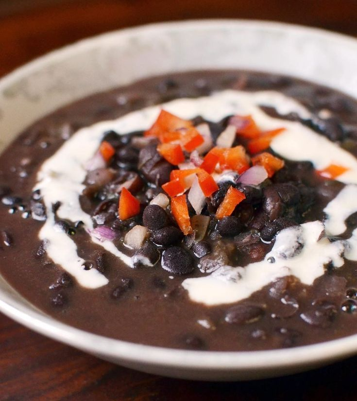 Cuban Black Bean Soup