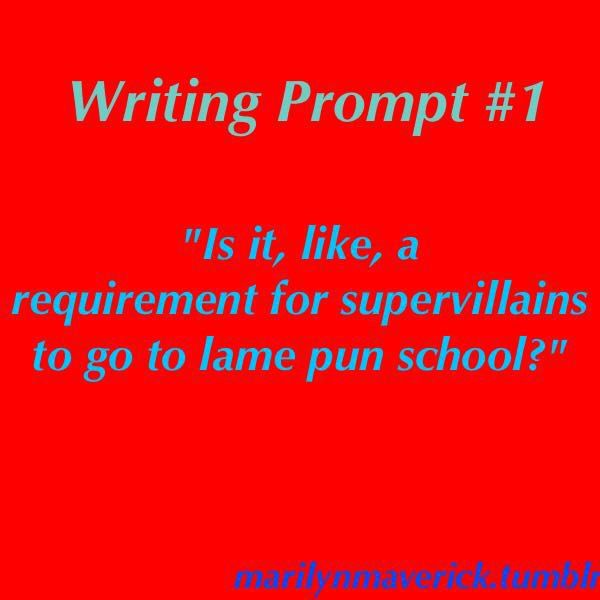 Marilyn Maverick's Writing Prompts - Prompt #1 | Emma's Pins