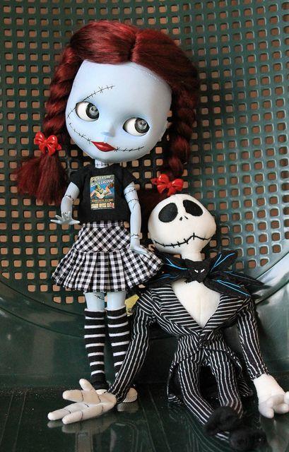 Sally & Jack in Love ♥ by velvetchi, via Flickr
